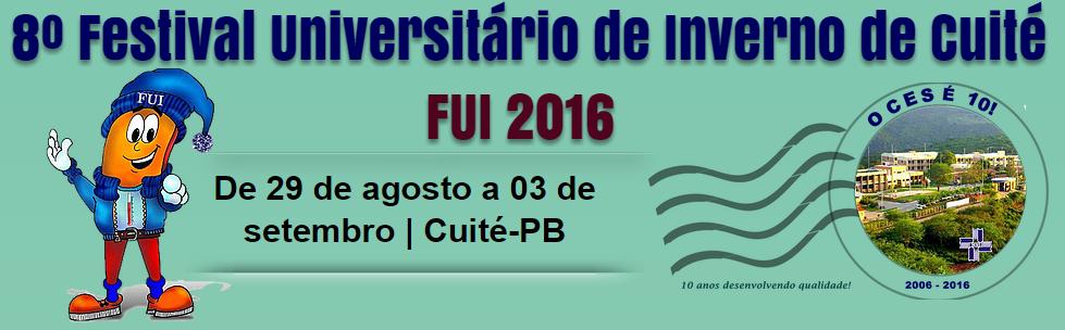 VIII FUI 2016 Página